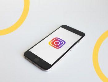 Instagram do salão de beleza